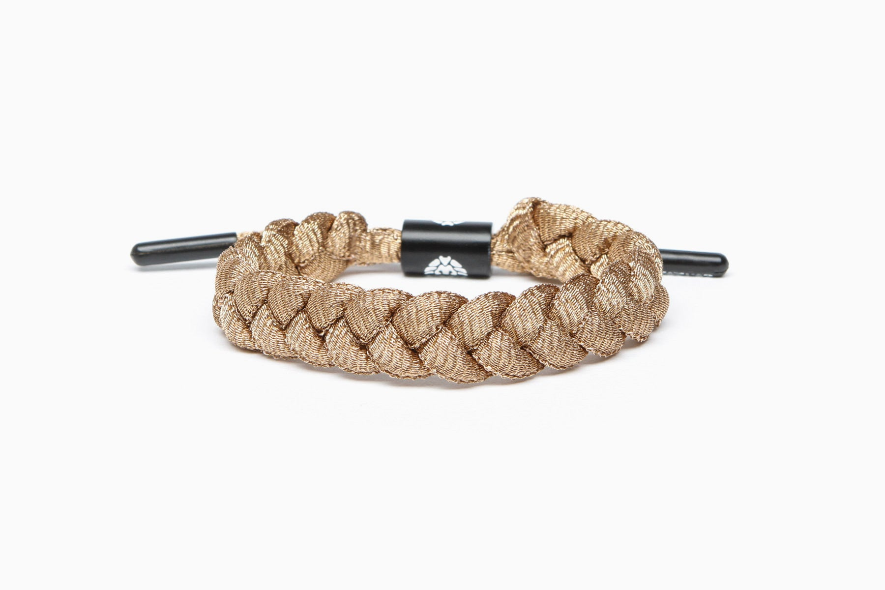 Metallic Shoelace Bracelet (Bronze)