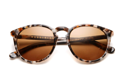 Beaumont Sunglasses (Camel Tortoise/Bronze)