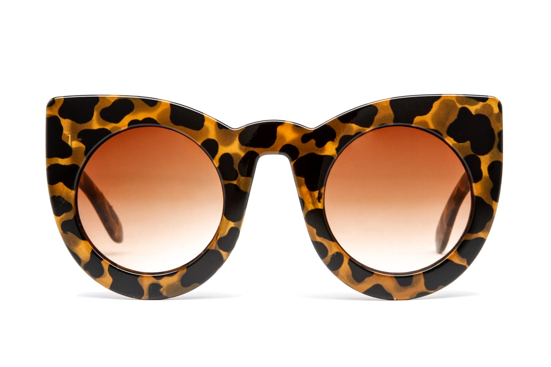 Alexis Round Cat Eye Sunglasses