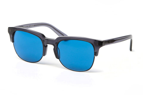 Lauderdale Sunglasses (Gel Black/Blue)