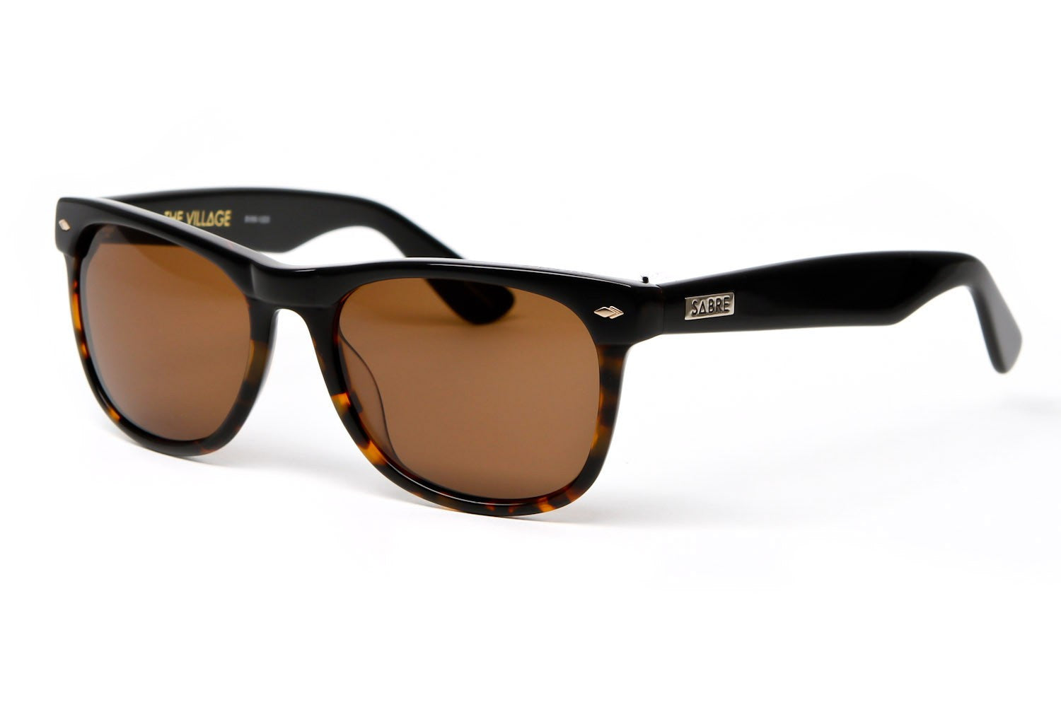 THEVILLAGESUNGLASSES(BLACKTORTOISE/BRONZE)