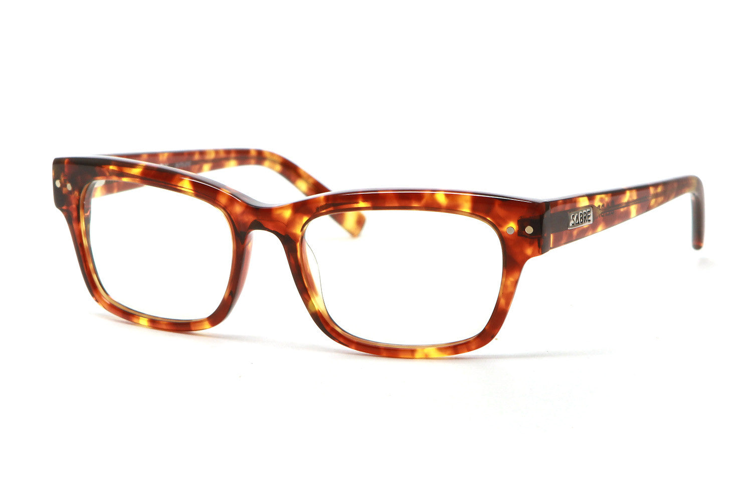 The Kennedy Glasses (Tortoise/Clear)
