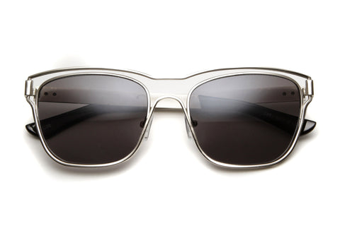 Enzo Metal Wired Framed Wayfarer Sunglasses