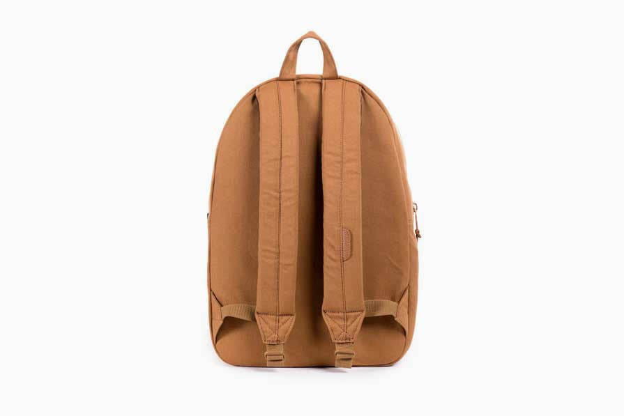 Settlement Caramel Coated Cotton Canvas Backpack (Caramel)