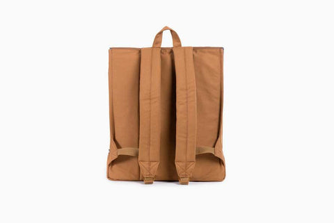 Survey Caramel Coated Canvas Backpack (Caramel)