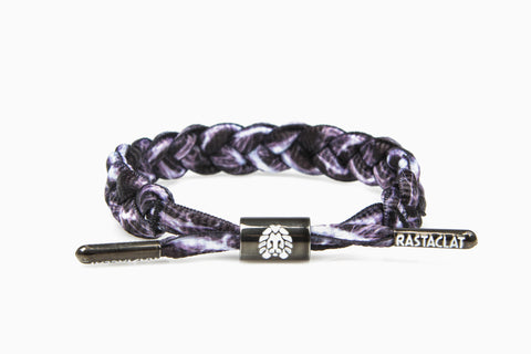 Antimatter Shoelace Bracelet (Black/White)