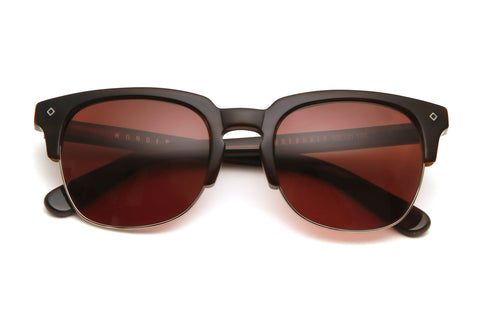 Lauderdale Sunglasses (Dark Wood/Bronze)