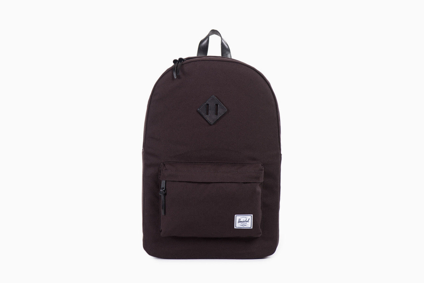 Heritage Cotton Canvas Backpack (Black)
