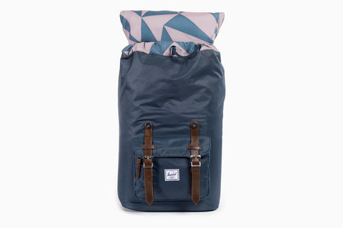 Little America Nylon Backpack (Navy Nylon)