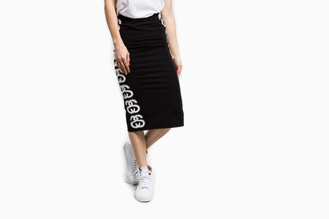 Women's SS Link Tube Skirt (Black)