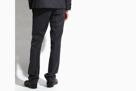 Men's Suit 'The Finest' Grey Slim Fit Pant (crate grey)