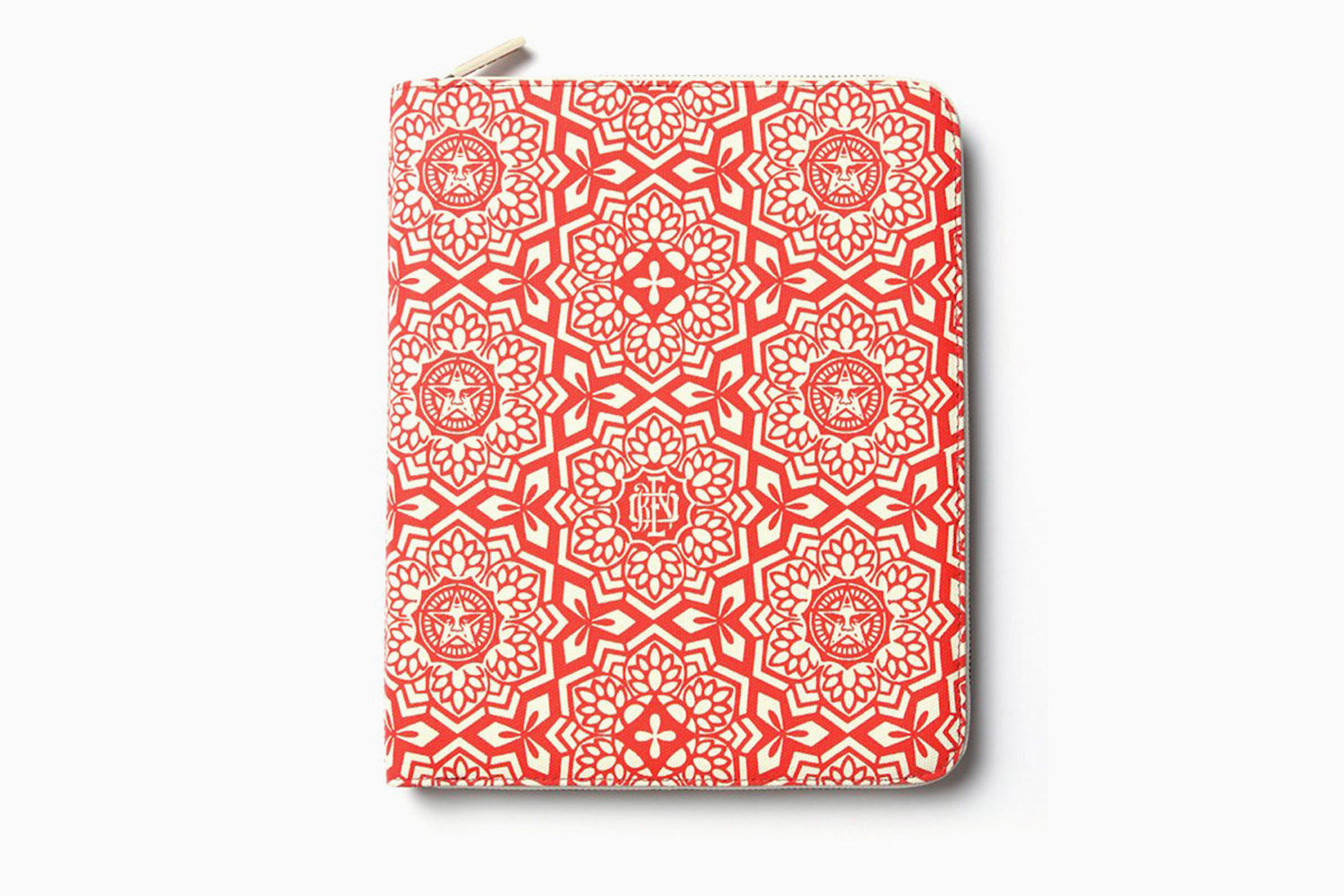 Shepard Fairey Coated Canvas Portfolio for iPad (Yen Pattern Red)