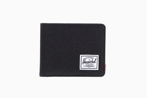Hank Large Bi-Fold Wallet (Black)