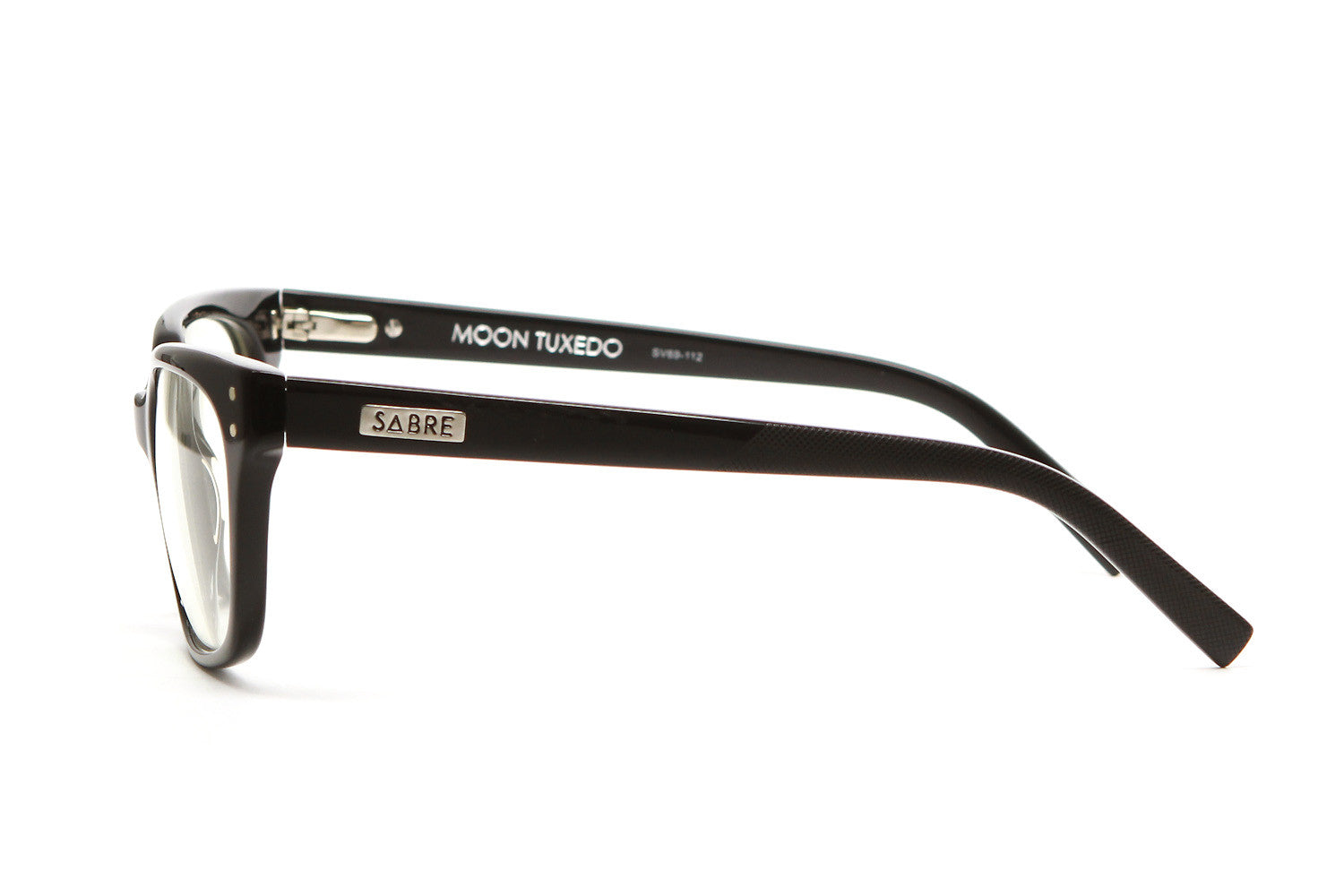 MOONTUXEDOOPTICALGLASSES(BLACKGLOSS/CLEAR)