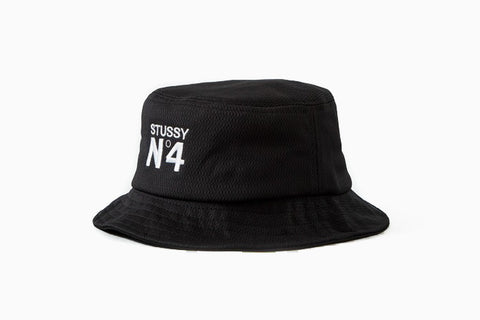 Women's Mesh Bucket Hat (Black)