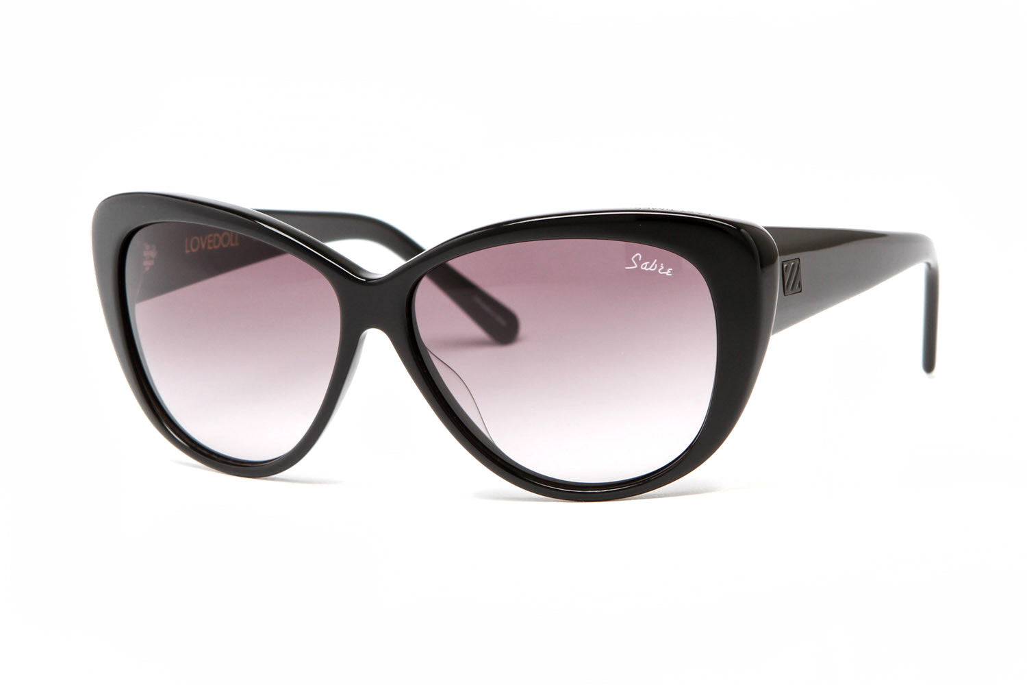 LOVEDOLLSUNGLASSES(BLACKGLOSS/GREYGRADIENT)