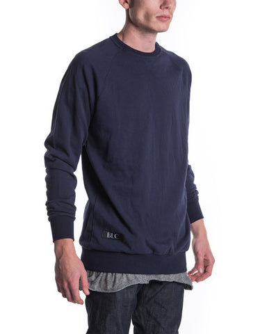 Crew Neck Jumper (Navy)