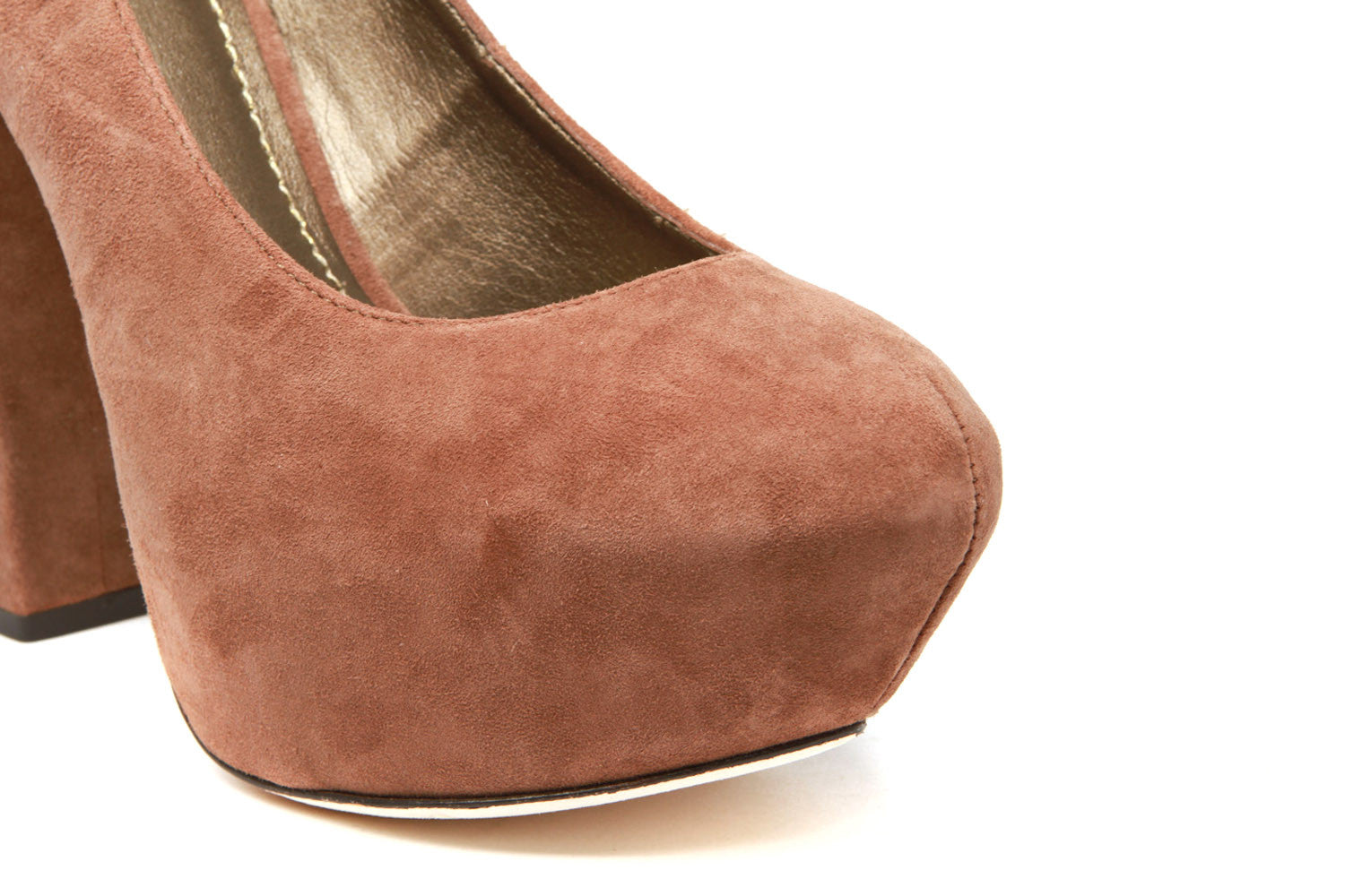 Alvahs Pumps (Brown Suede)
