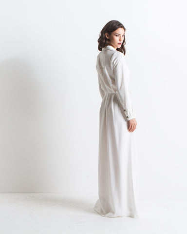 Women's Boston Gown (White)