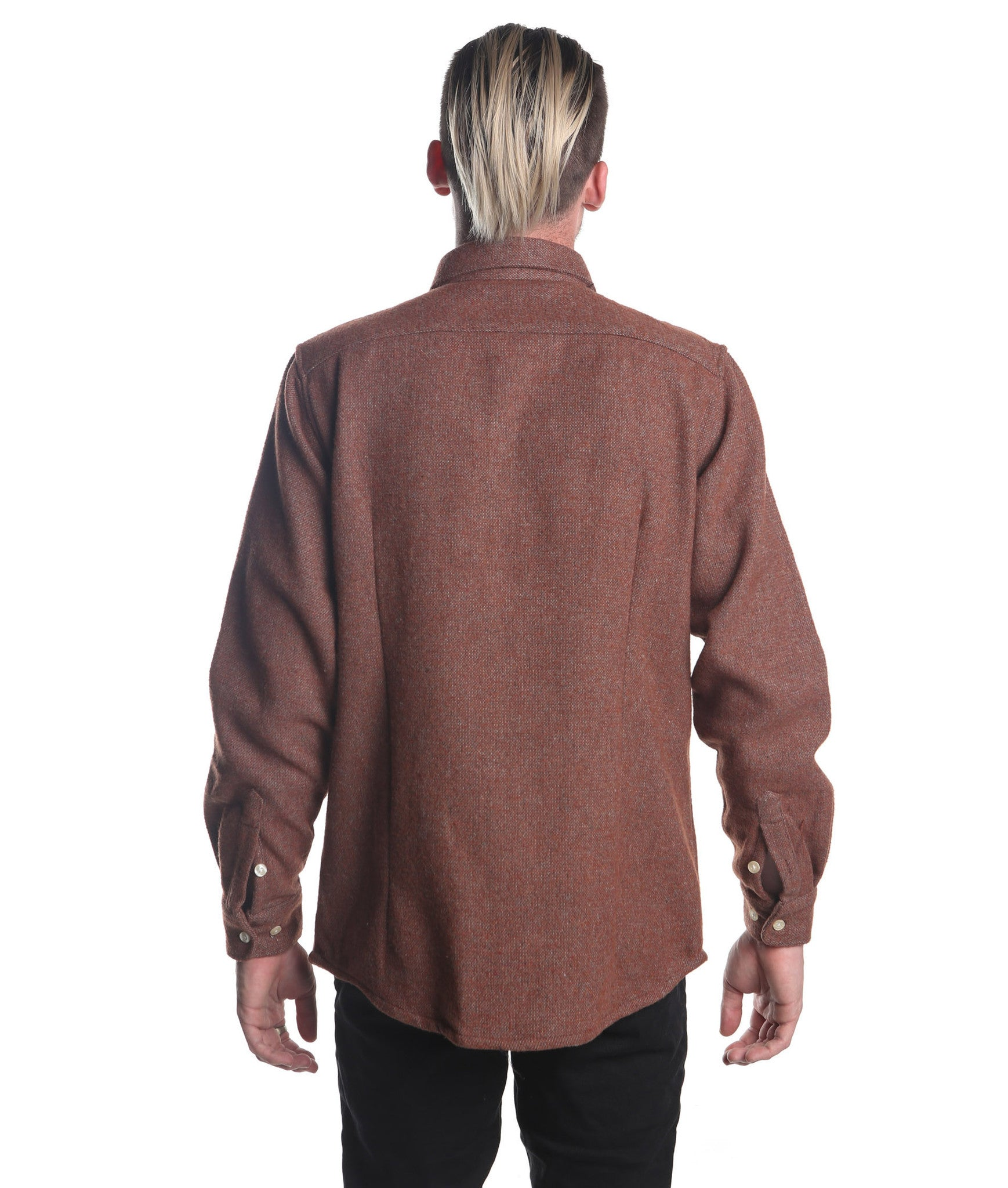 Long Sleeve Heavy Shirt (Dark Red)