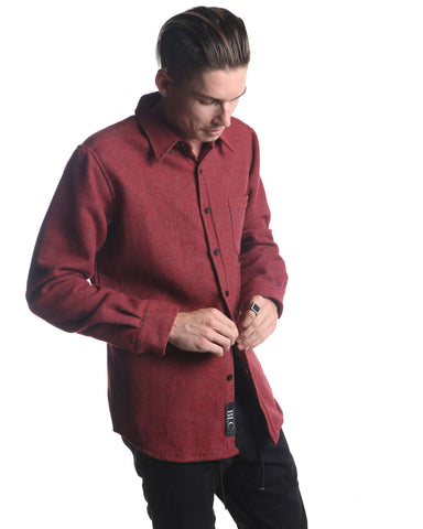 Long Sleeve Heavy Shirt (Red)