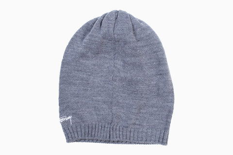 Stussy Slouch Beanie (Charcoal)