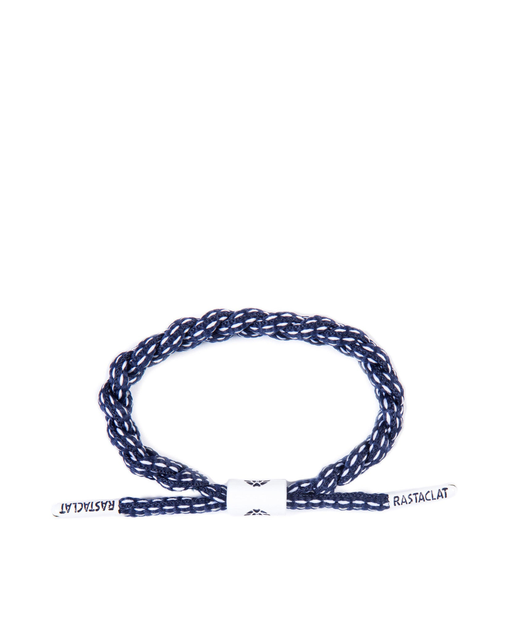 The Bronx Shoe Lace Bracelet (Navy/White)