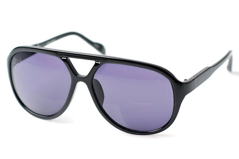 Knox Retro Plastic Aviator Sunglasses
