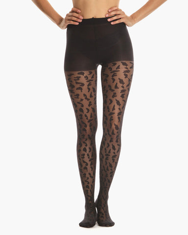 Women's Pretty Squiggly Tights (Black)