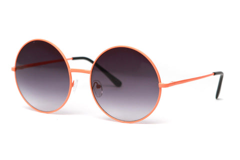 Neon Walker Large Round Oversized Sunglasses