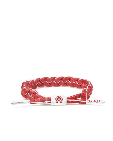Furious 3M Shoelace Bracelet (Fire Red/White/Silver/3M)