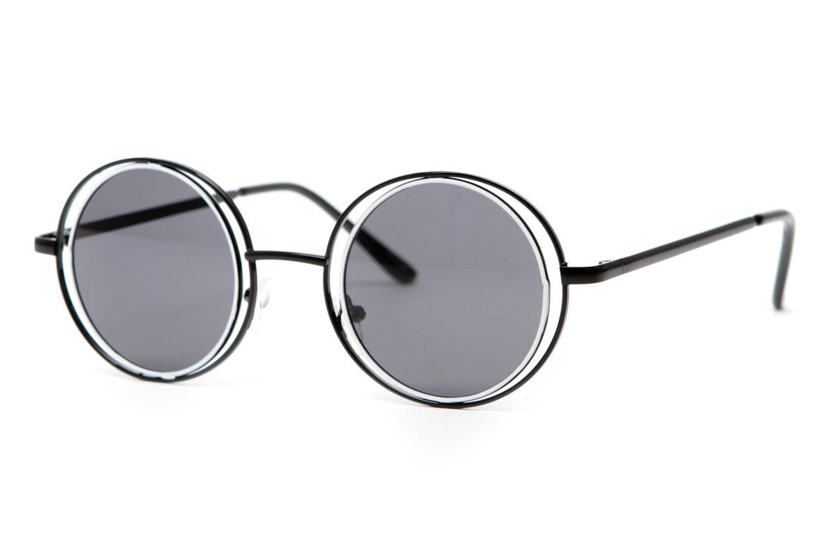 Groov Unique Round Hippie Style Sunglasses