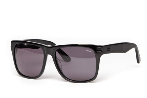 Heartbreaker Sunglasses (Black Gloss/Grey)