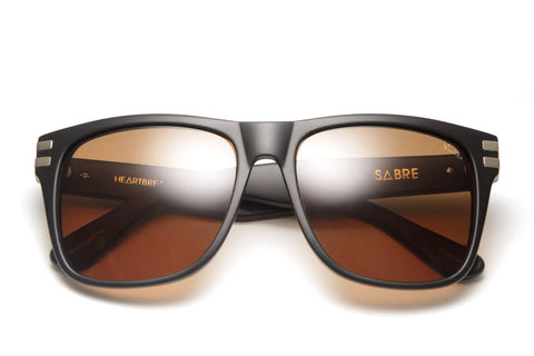 Heartbreaker Sunglasses (Matte Black/Bronze)