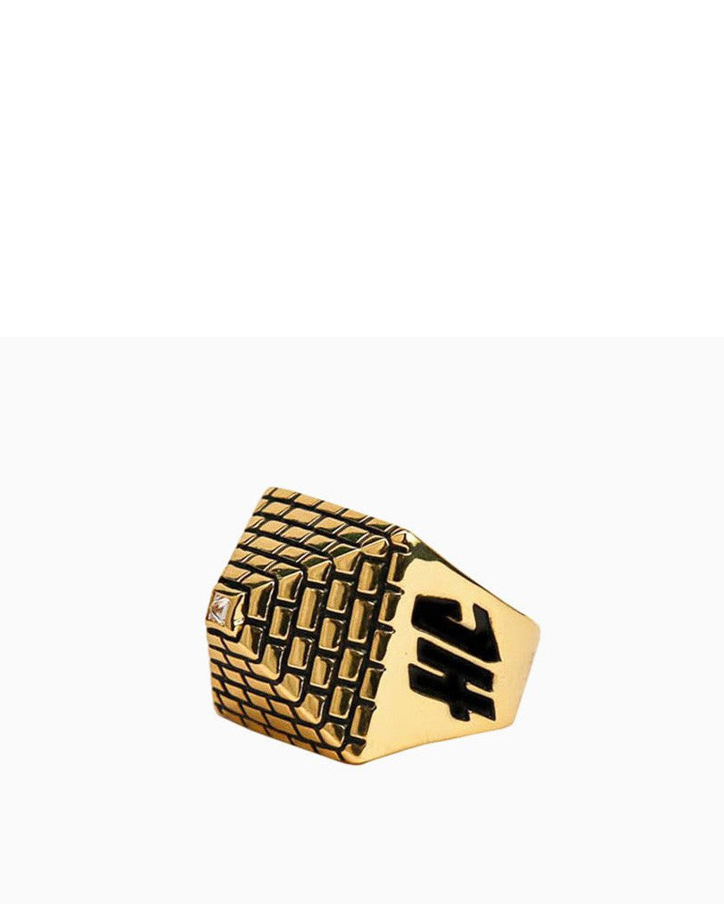 His Pyramid Ring (Gold)