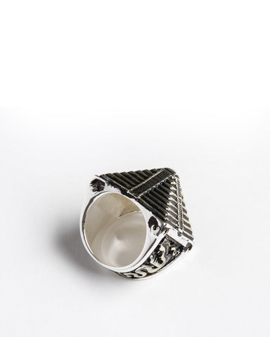 His/Her Mayan Ring (Silver)