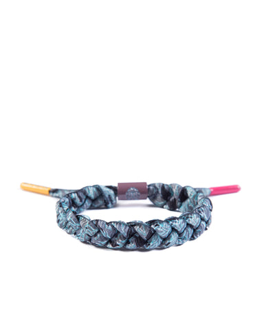 Mingalin Shoelace Bracelet (Grey/Black/LightBlue/White)