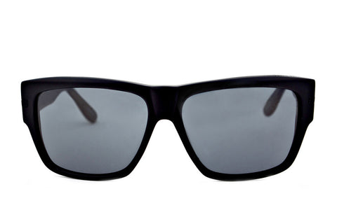 No Control Sunglasses (Black Gloss/Grey)