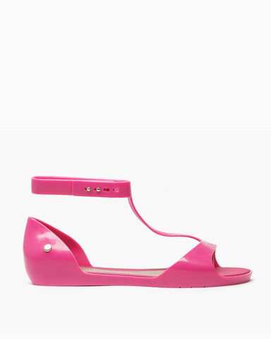 Optical Sandals (Pink/Beige)