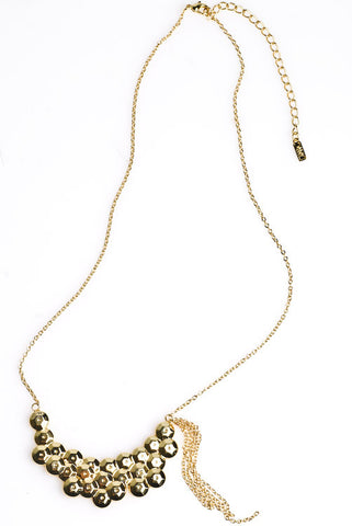 Sequin Necklace (18K Gold)