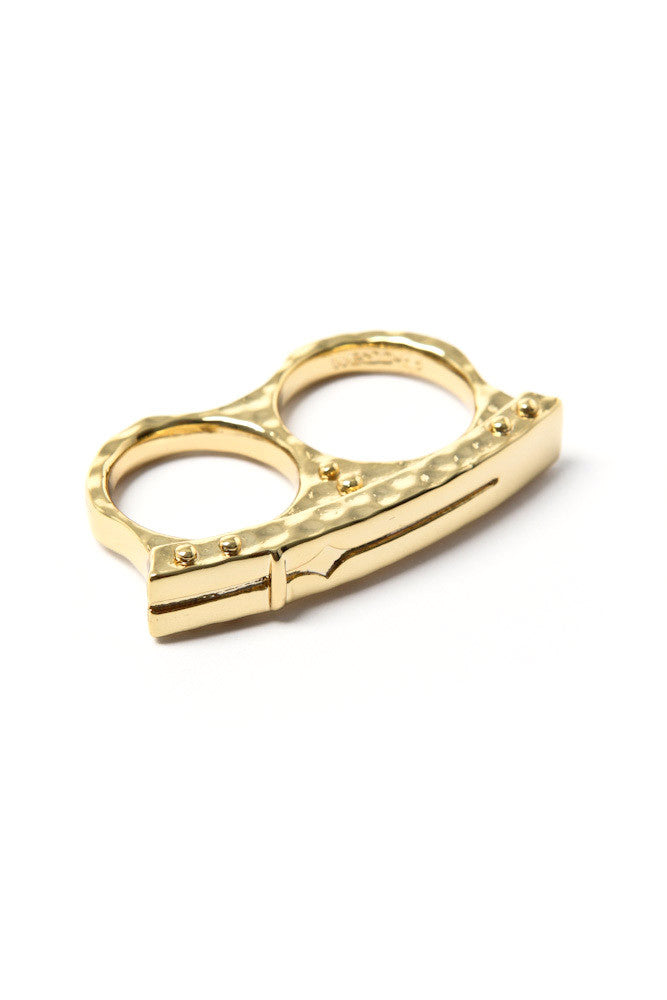 Women's Bing Bang x WeSC: Bar Ring (Gold)