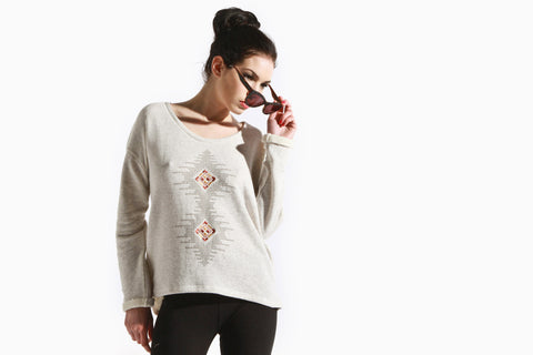 Women's Ranger Sweater (Heather Vanilla)