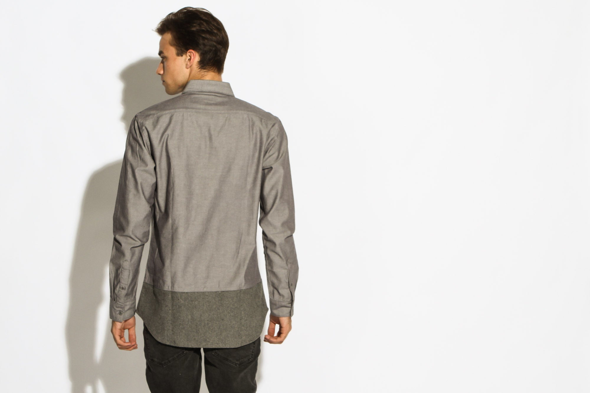 Men's Clay Shirt (Iron Gray)
