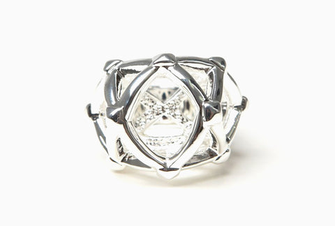 Labyrinth Ring (Silver)