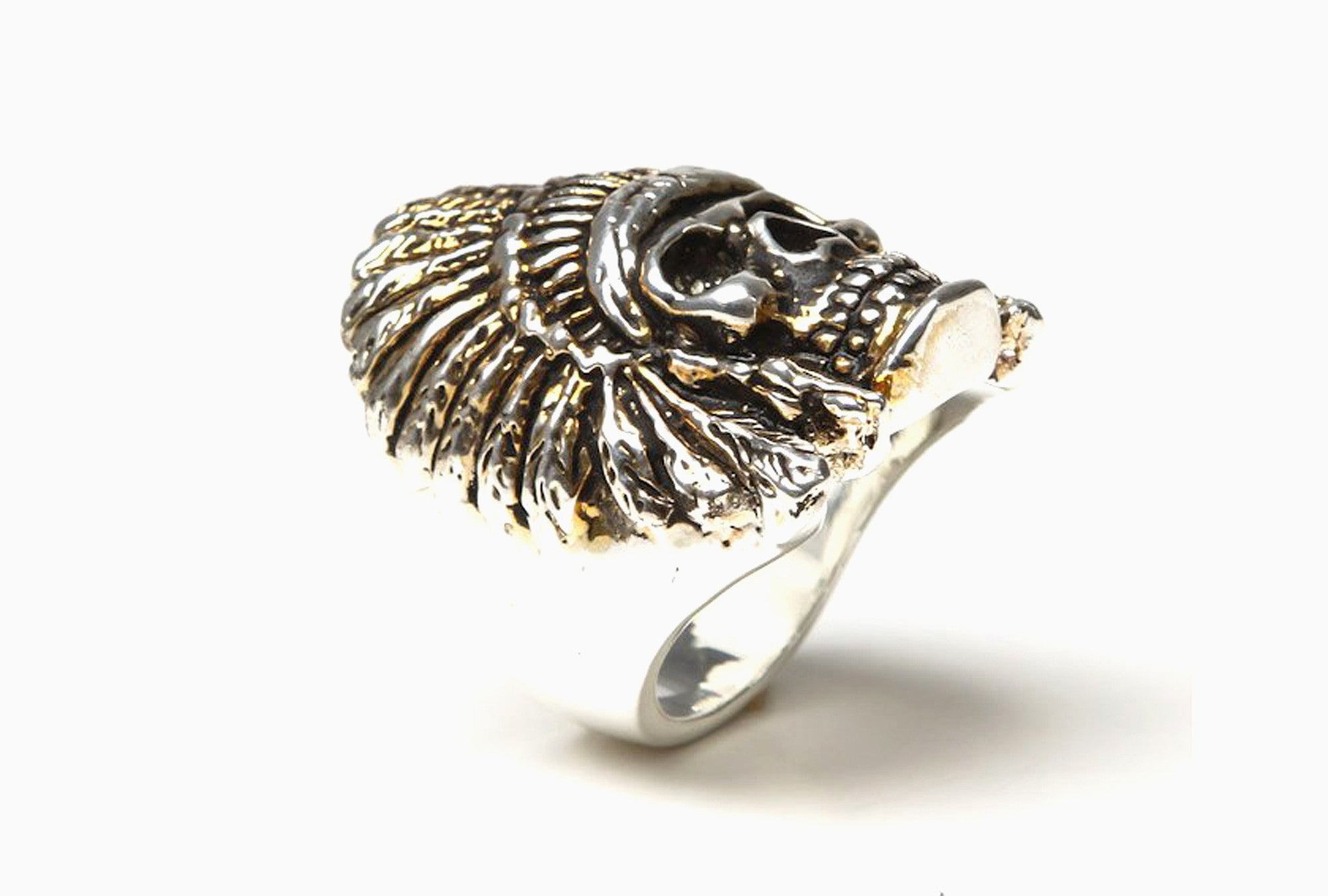 Indian Chief Ring (Silver)