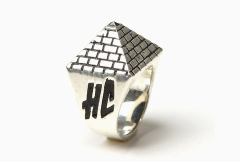 His Pyramid Ring (Silver)