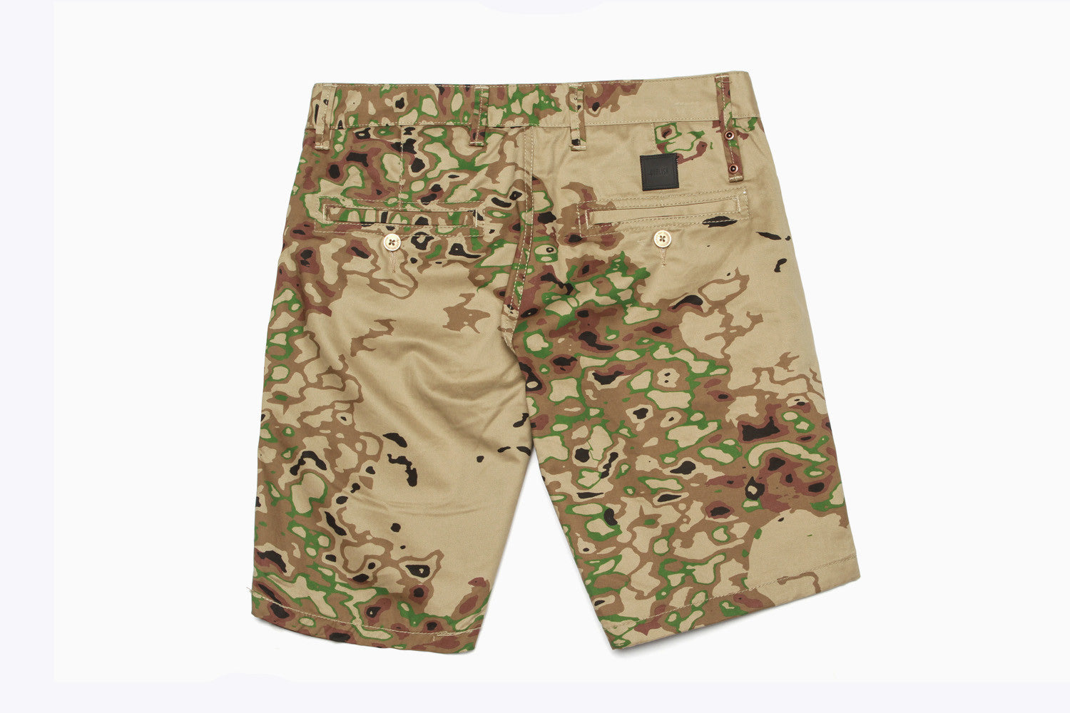 Men's Neilsen Camo Shorts (Tan)