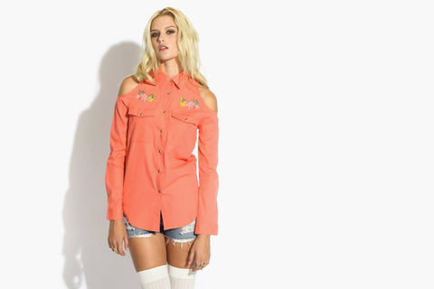 Women's Huntress Shirt (Coral)