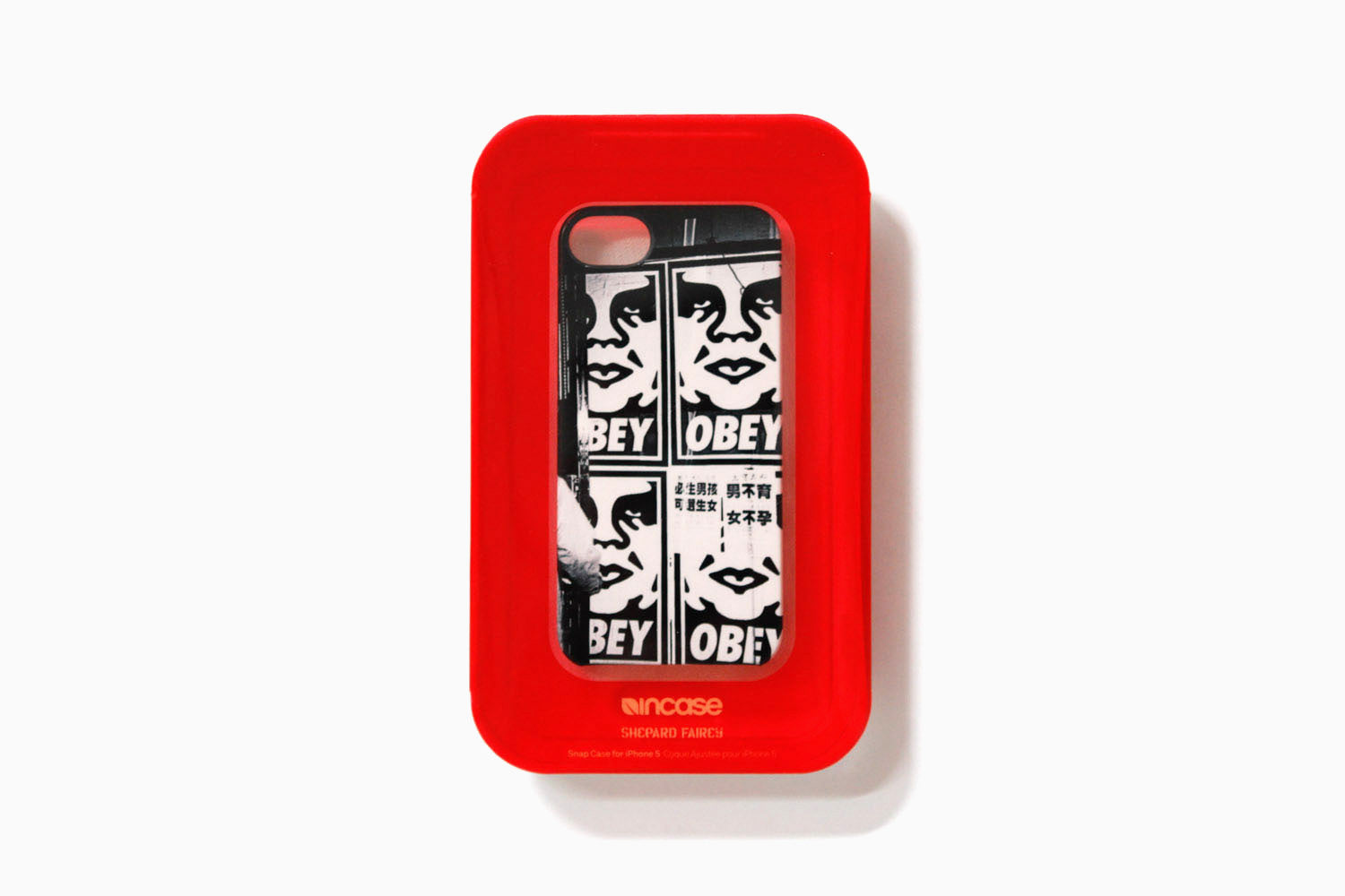 Incase x Shepard Fairey - iPhone 5 Hong Kong Street Scene Snap Case (Black)