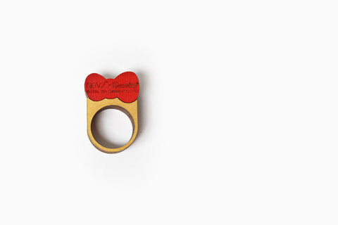 Sanrio Mini Stack Bow Ring (More Colors)